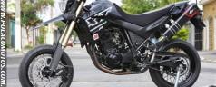 Yamaha XT660R Supermotard