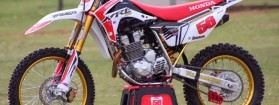 XRE450R motocross borracha #56